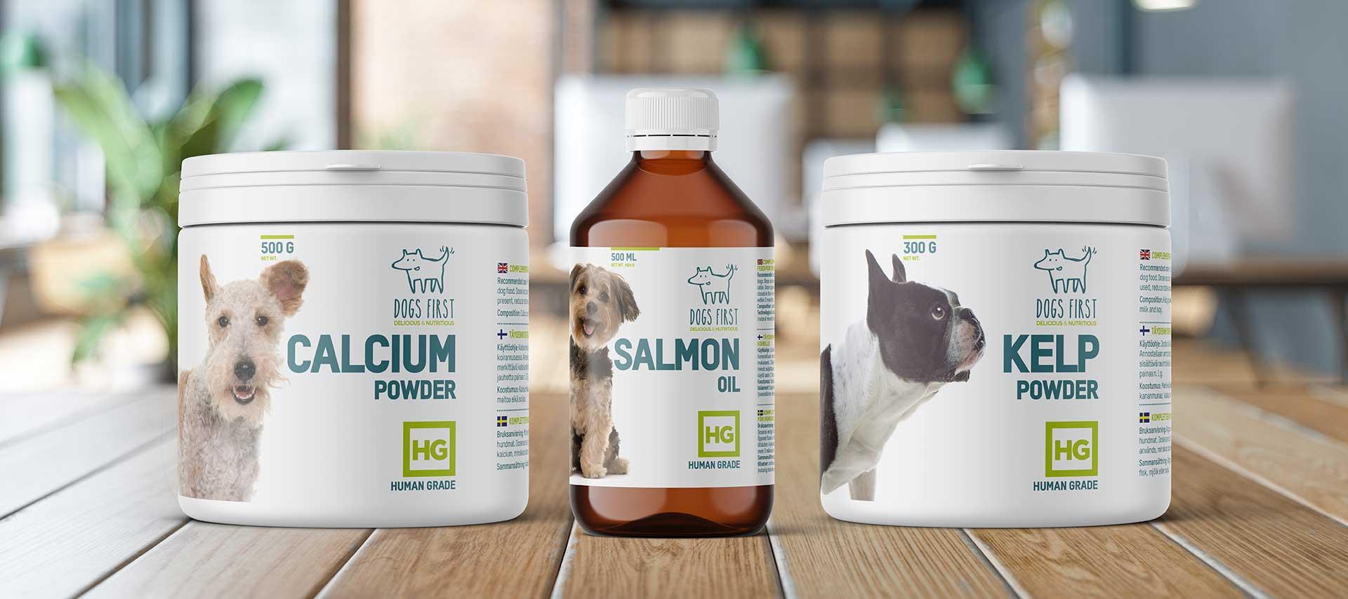 Dog Food Supplement Packaging Designs