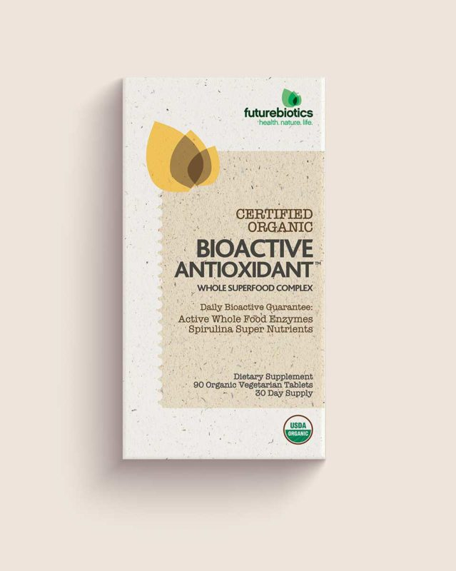 Organic Vitamin and Mineral Packaging Design