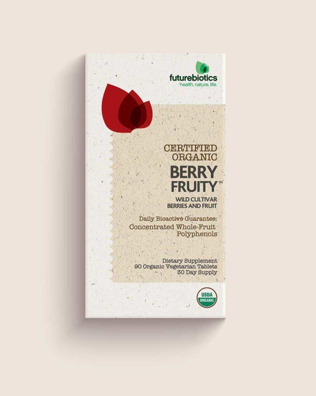 Vitamin Packaging Design for Futurebiotics - Certified Organic