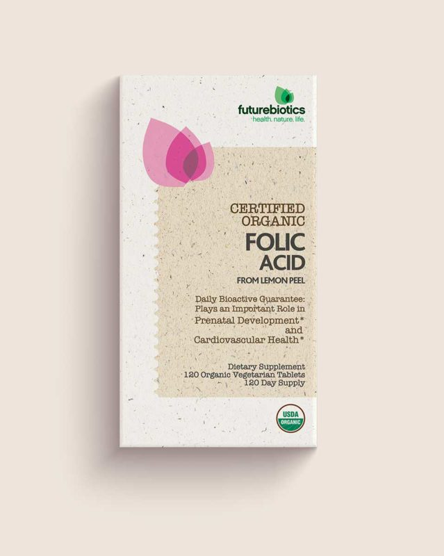 Natural packaging design for orgainc Vitamin and Minerals