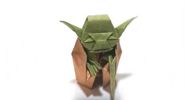 Yoda – Origami Directions | Star wars origami, Origami yoda ... | 337x622